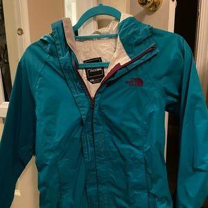 North face XS lightweight rain jacket